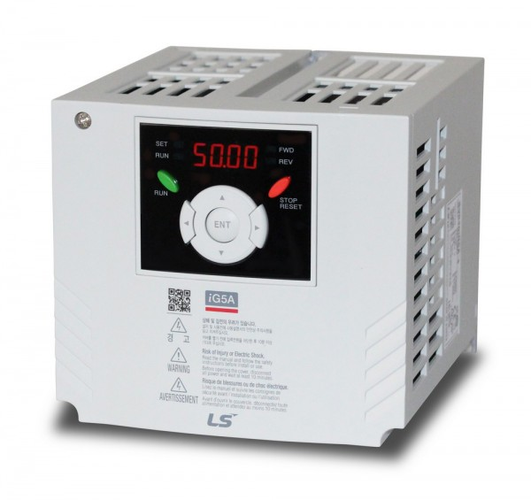 Ls Inverter 4kW, three phase, 400V, 50/60Hz, 0-400Hz